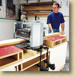 Portable Planer Stand